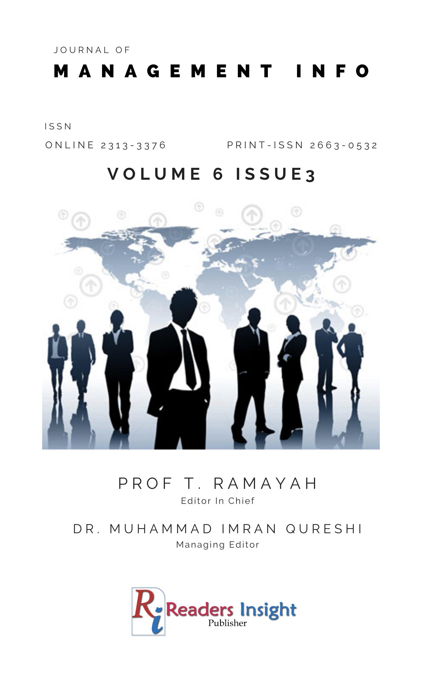 Journal of Management Info